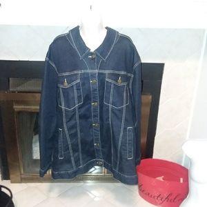 Lane Bryant Jean jacket sz 26